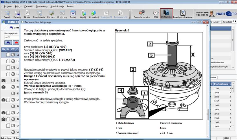 katalog Integra DVD instrukcje