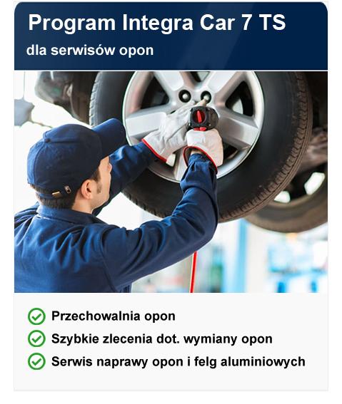 program Integra Car 7 Tyre Service