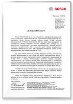 Rekomendacje firmy Bosch
