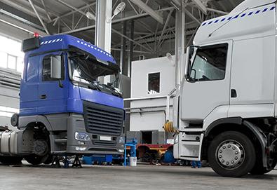 Program do serwisu samochodów ciężarowych