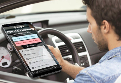 Aplikacja mobilna Integra Connect