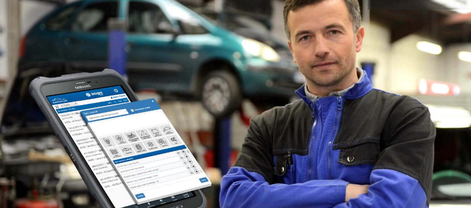 Aplikacja mobilna dla serwisantów