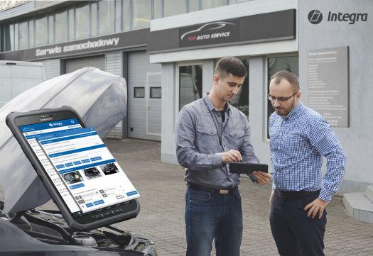 Aplikacje mobilne firmy Integra