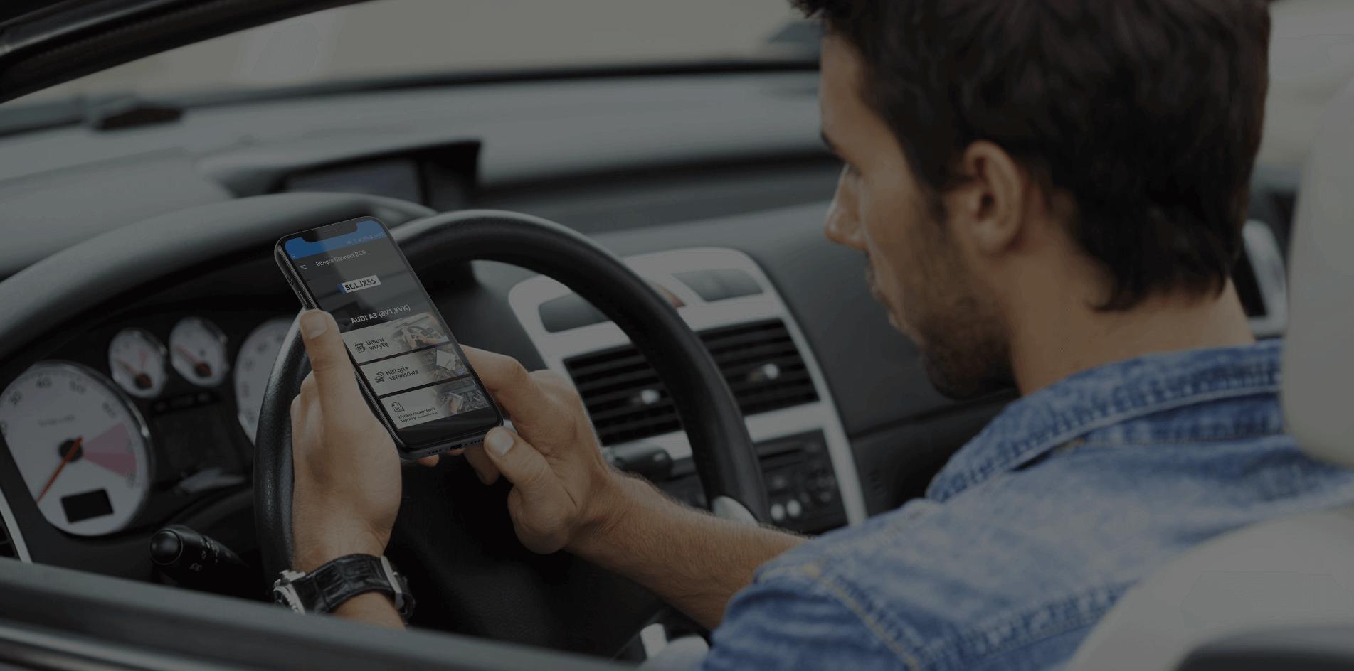 Aplikacja mobilna do komunikacji serwisu z kierowcą