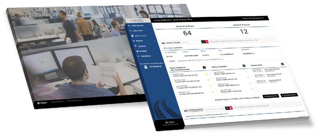 System zarządzania flotą - panel Back Office