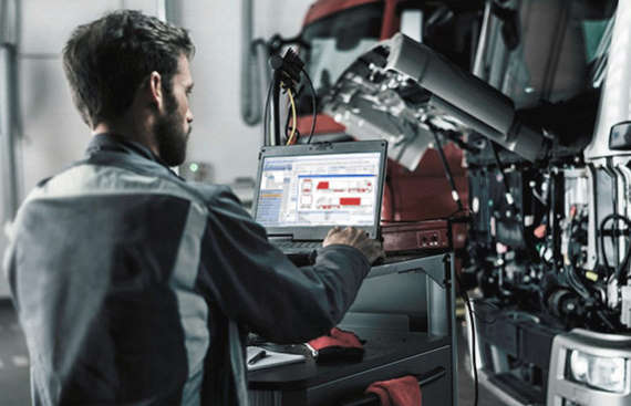 program warsztatowy do samochodów ciężarowych