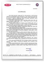 Rekomendacja ASO Jel-Car