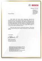 Rekomendacja Bosch