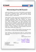 Rekomendacja BS Chojnacki