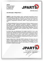 Rekomendacja JParts