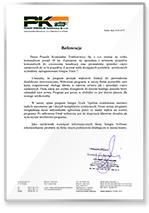 Rekomendacja PK Tymborowscy