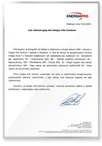 Rekomendacja EnergiaPro