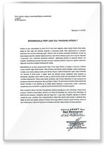 Rekomendacja PPHU Leset