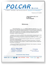 Rekomendacja Polcar