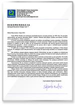 Rekomendacja PPUH Waldex