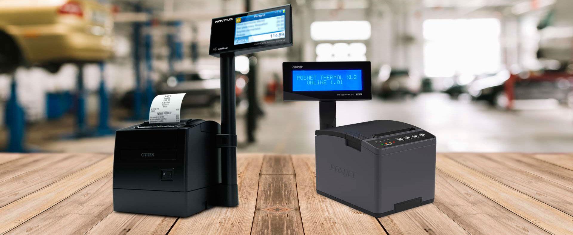 drukarki fiskalne online kompatybilne z Integrą