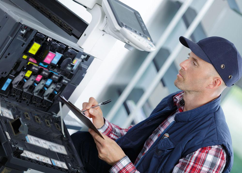 naprawa drukarki w serwisie