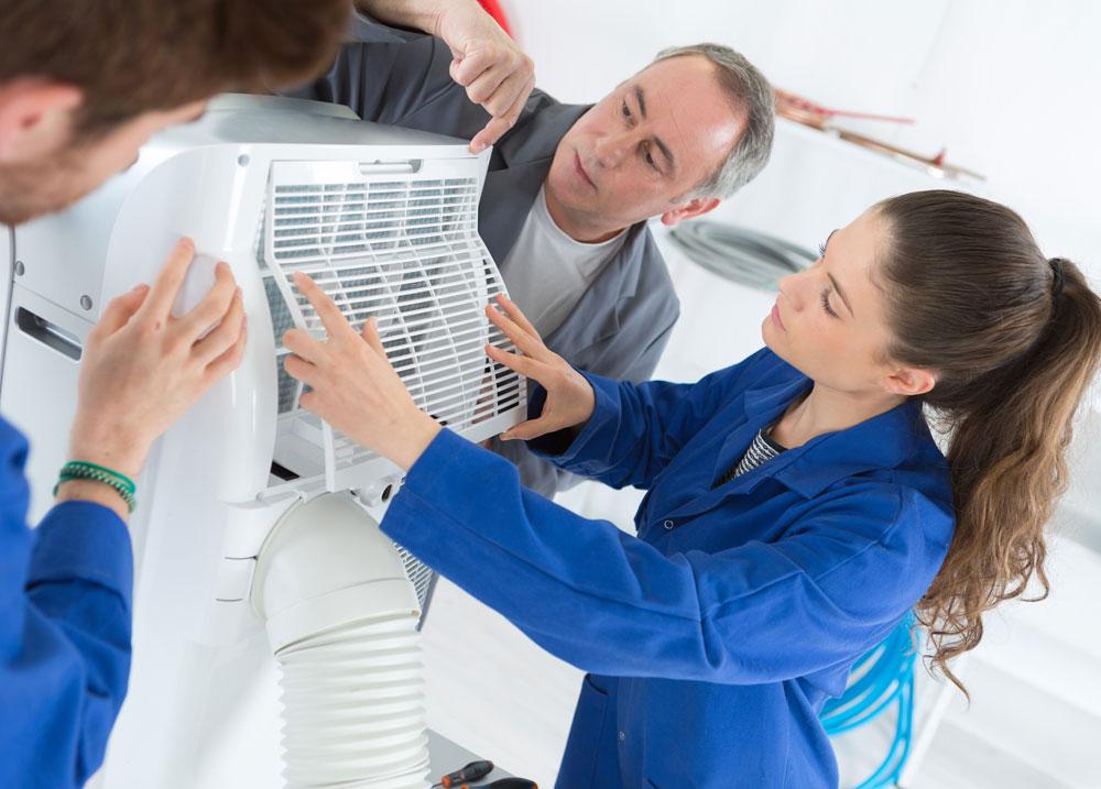naprawa urządzenia do klimatyzacji