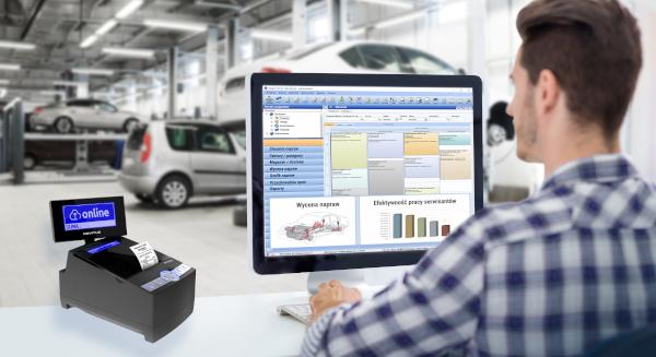 Integra Car 7 program do warsztatu.